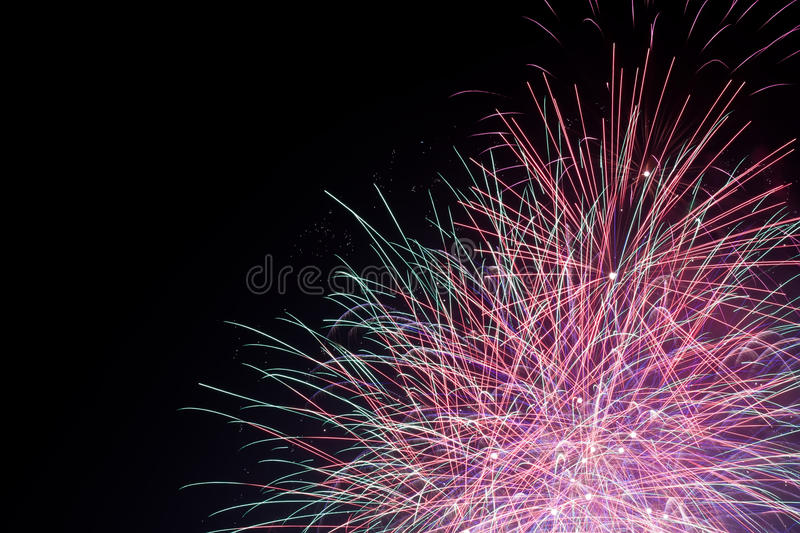 Download Fireworks stock image. Image of color, colour, green - 28599073
