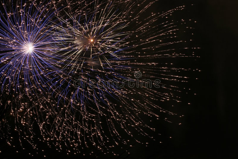 Fireworks 4 royalty free stock images