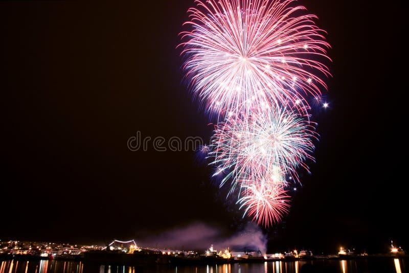 Download Fireworks stock photo. Image of years, night, display, exosure - 428244