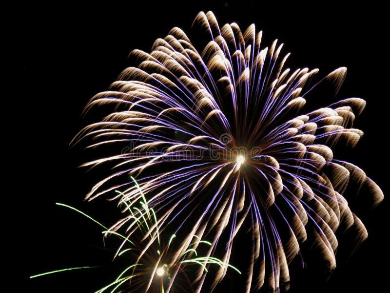 Fireworks. 2006 fireworks royalty free stock image