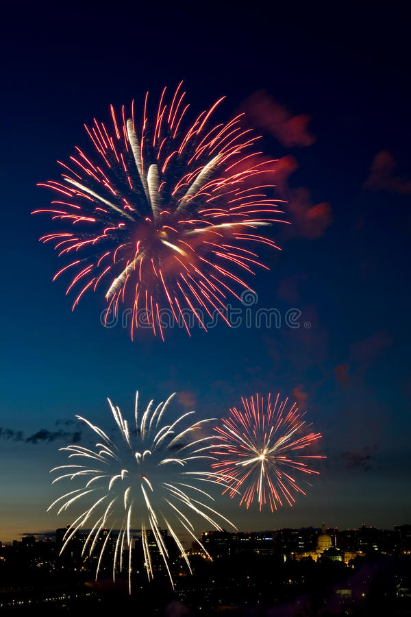 Free Fireworks 5 Stock Image - 18030341