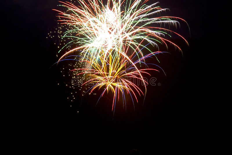 Download Fireworks 5 stock image. Image of multiple, exciting, fireworks - 309735