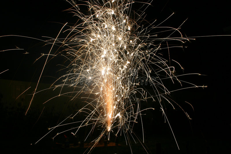 Fireworks 5 royalty free stock photos