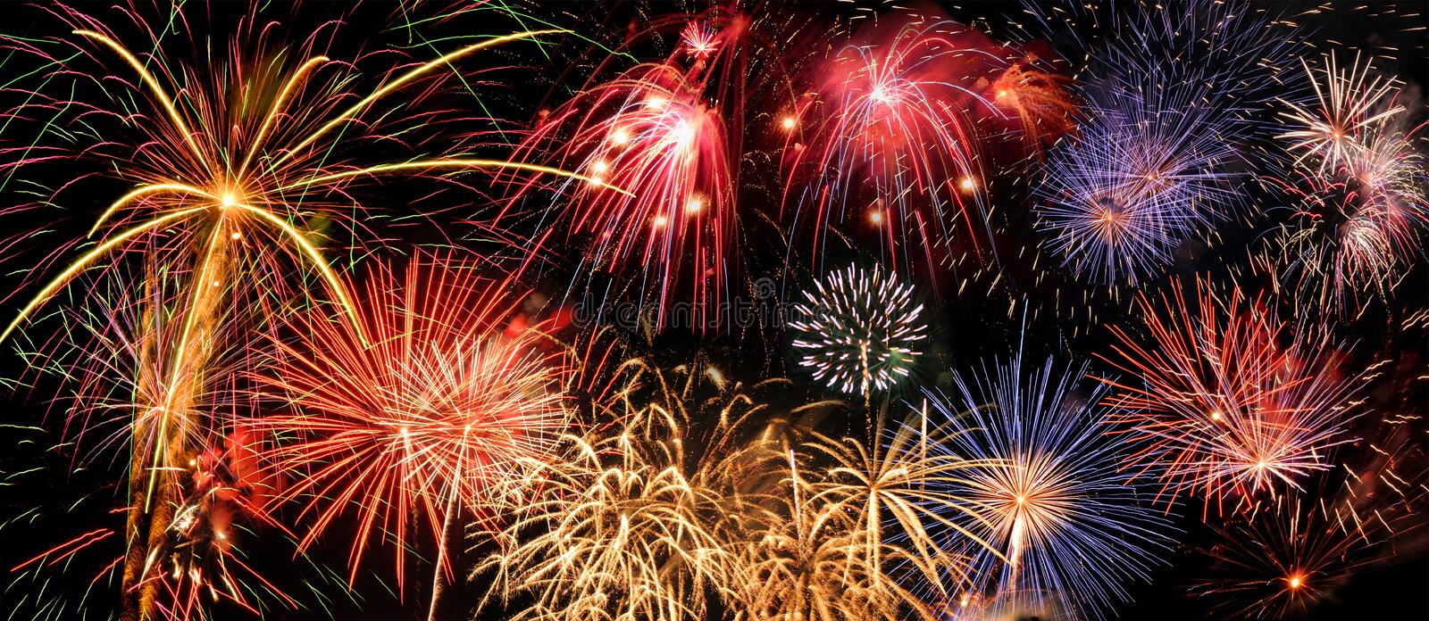 Download Fireworks stock image. Image of glow, explosion, party - 5983751
