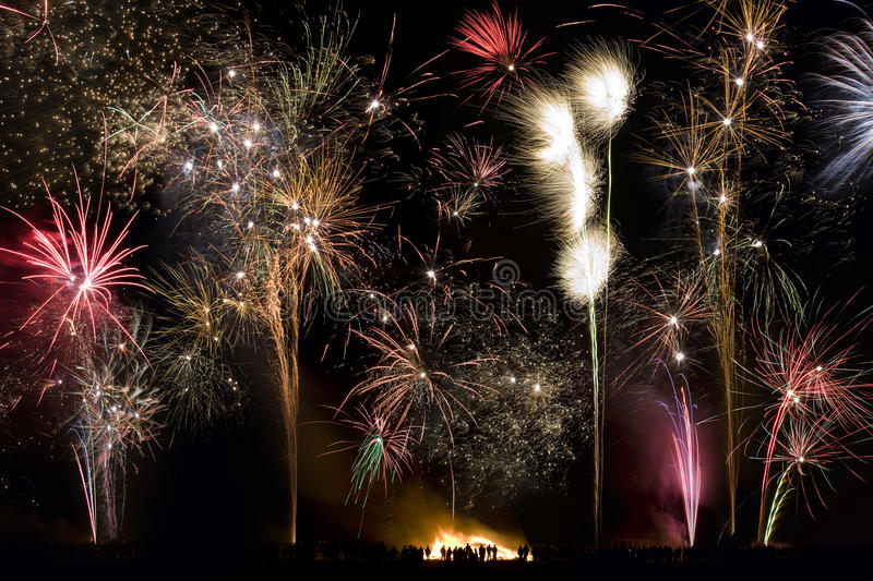 Download Fireworks - 5th November - Guy Fawkes Night Stock Image - Image of tourism, travel: 22457131