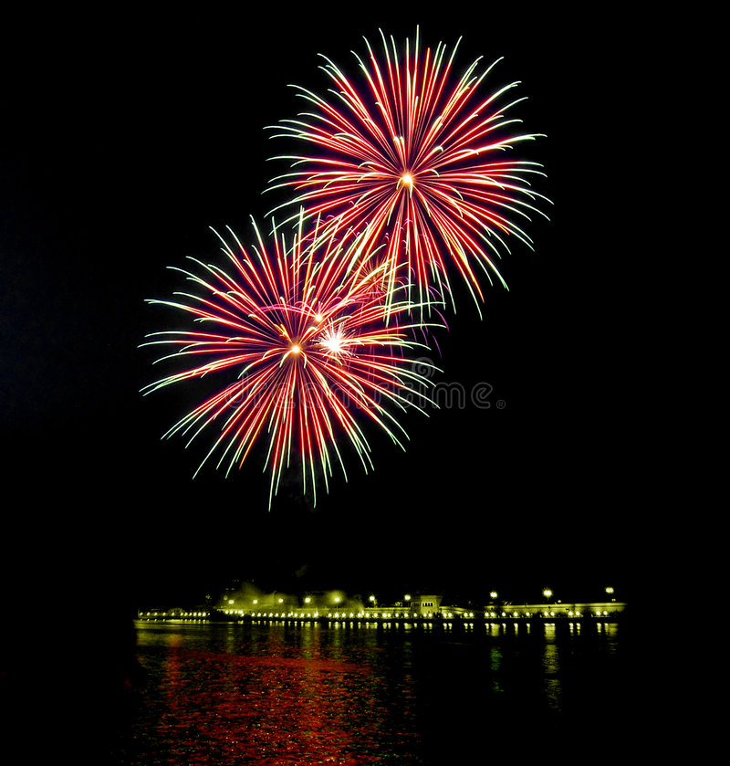 Fireworks [6] royalty free stock image