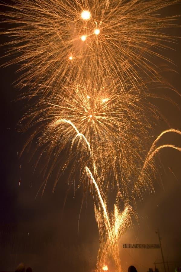 Fireworks 7 Royalty Free Stock Image