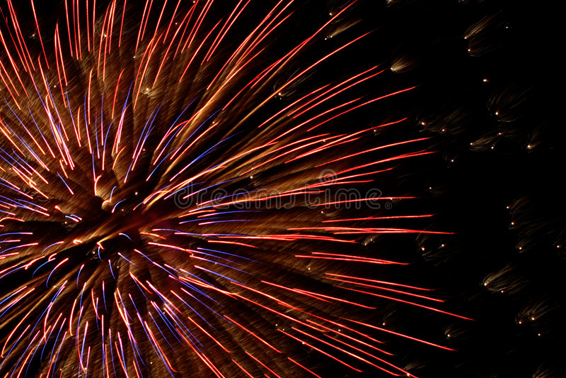 Fireworks 8 royalty free stock photo