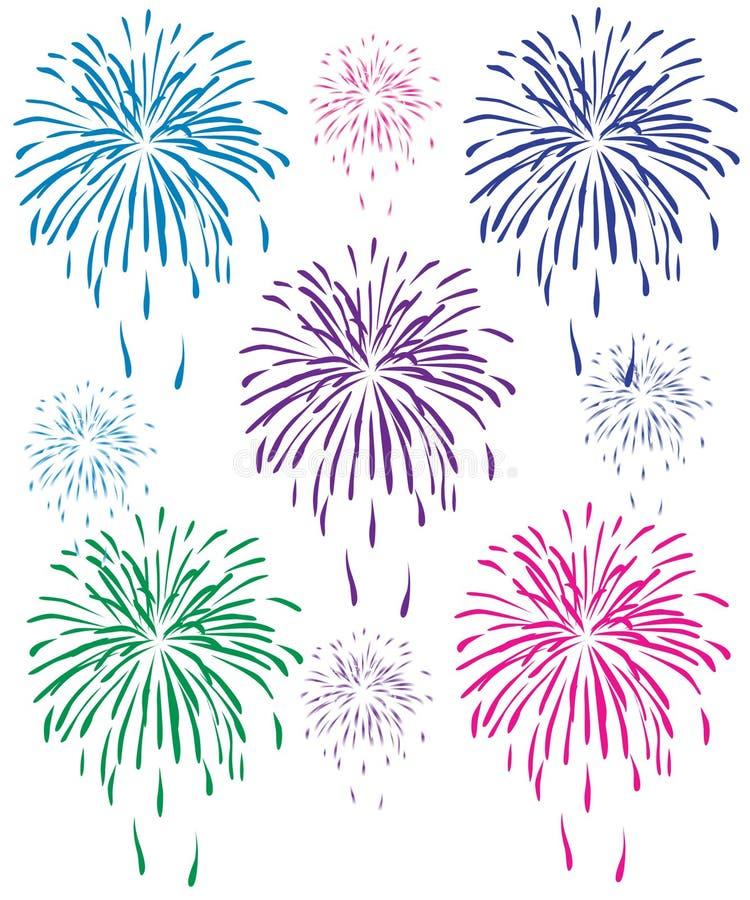 Free Fireworks Royalty Free Stock Photo - 8493365