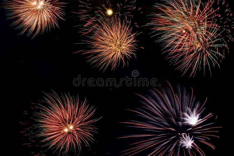 fireworks στοκ φωτογραφίες