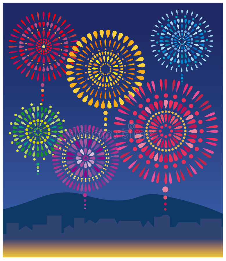 Download Fireworks Royalty Free Stock Photography - Image: 8734247
