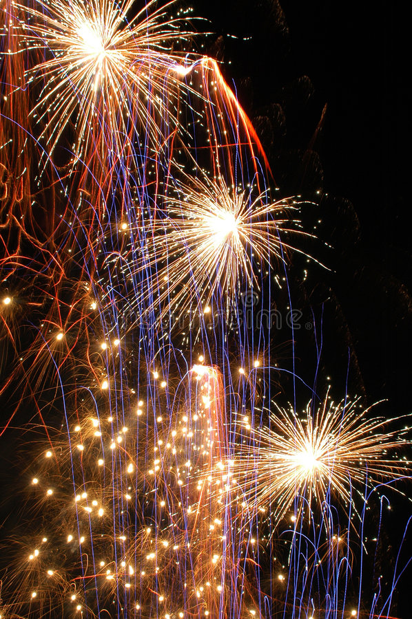 Fireworks_9 stock image