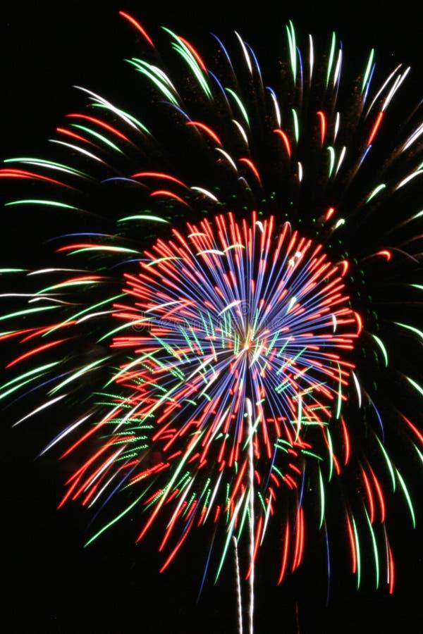 Download Fireworks stock image. Image of flash, patriot, fair, sparker - 943471