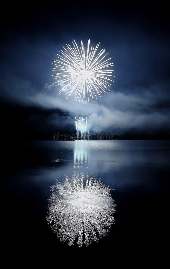 Free Fireworks - Blue Stock Photos - 6489883