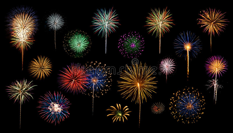 Fireworks Catalog royalty free stock photos