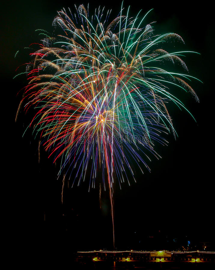 Download Fireworks stock photo. Image of year, festival, show - 43825324