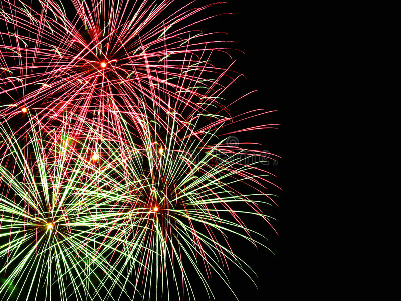 Download Fireworks with copyspace stock photo. Image of textspace - 3650692