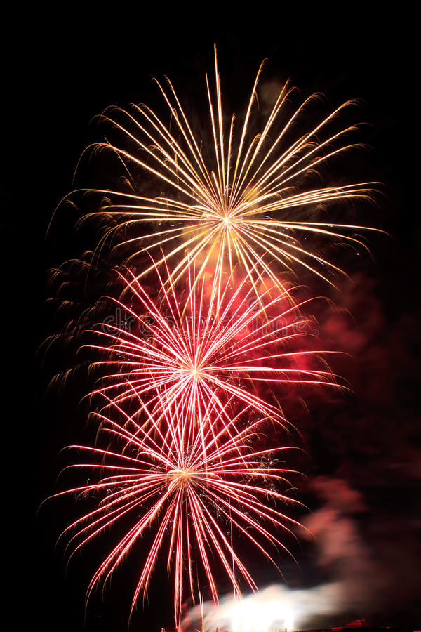 Download Fireworks Display stock photo. Image of evening, glowing - 23998540