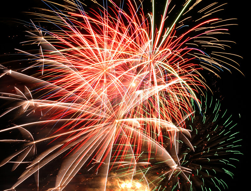Download Fireworks Display stock image. Image of sparkling, abstract - 2728049