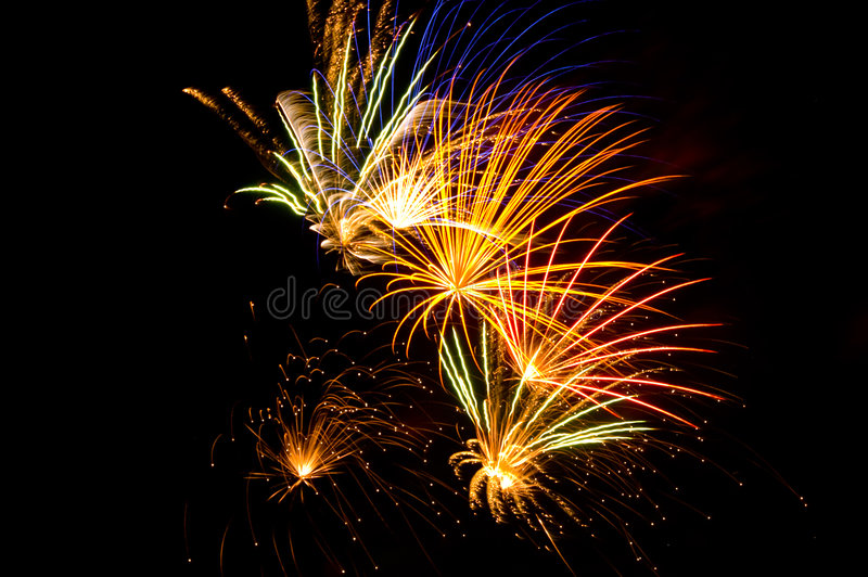 Download Fireworks Display stock image. Image of united, space - 5478677