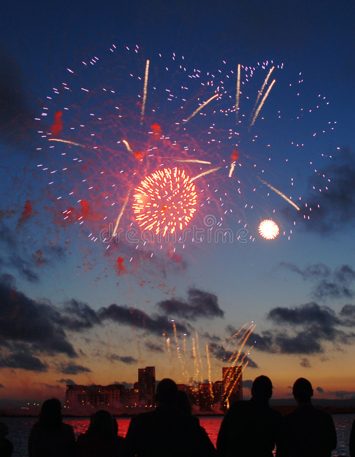 Download Fireworks Display Royalty Free Stock Image - Image: 6457926