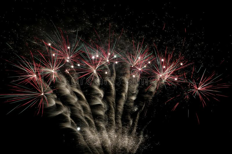 Fireworks Display stock photo