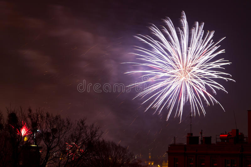 Download Fireworks Display On New Years Eve Stock Image - Image: 28429073