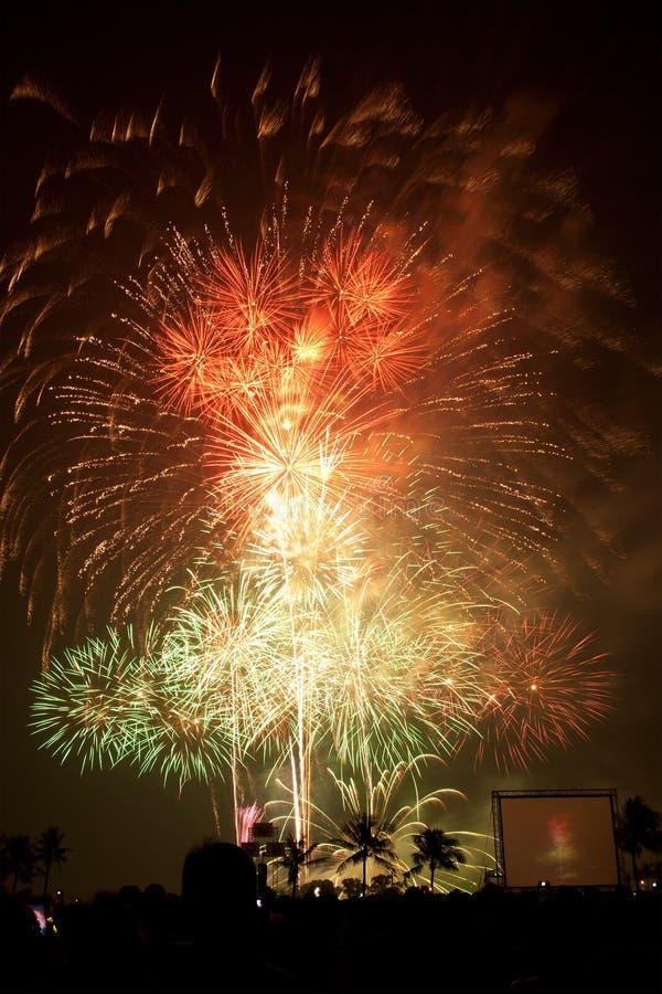 Download Fireworks Exploding stock photo. Image of black, light - 17968458