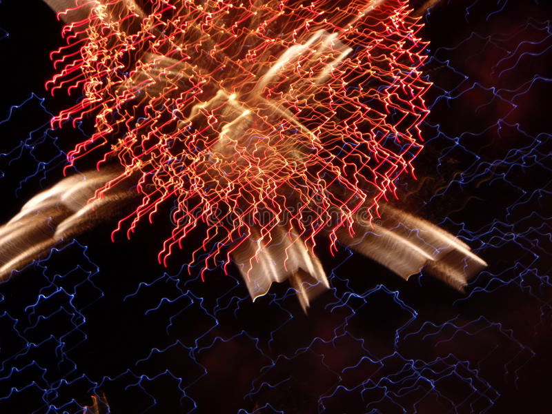Fireworks. Exploding in the sky pyrotechnics stock images