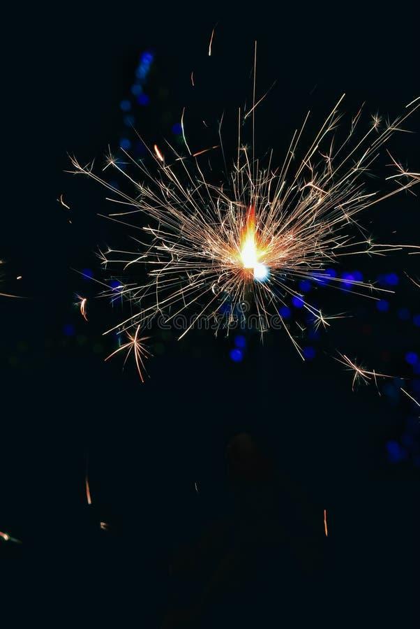 Fireworks festival ,Happy Diwali  Diya lamps lit during diwali celebration,fireworks and Diwali  beautiful background. Color, india, lighting, holiday royalty free stock photos
