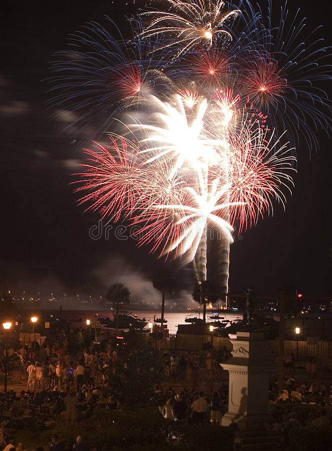 Download Fireworks Four stock image. Image of pyrotechnics, independence - 1516899