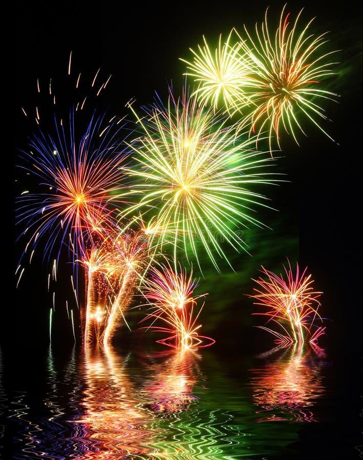Download Fireworks stock image. Image of explosion, fireworks - 42082959
