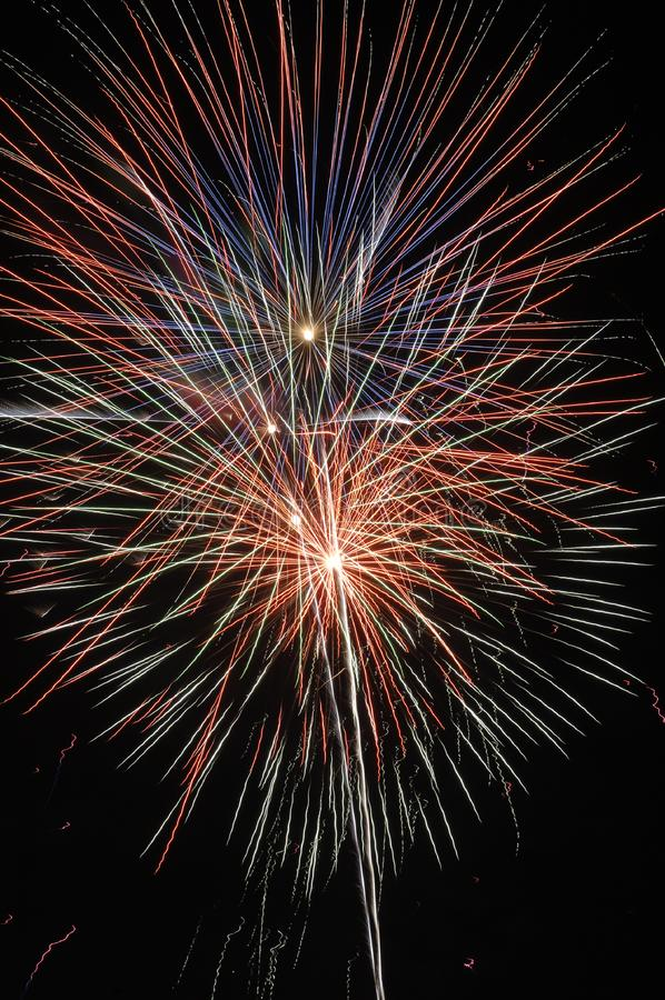 Fireworks II royalty free stock image