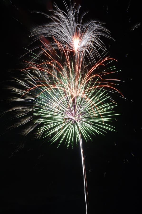 Fireworks III stock image
