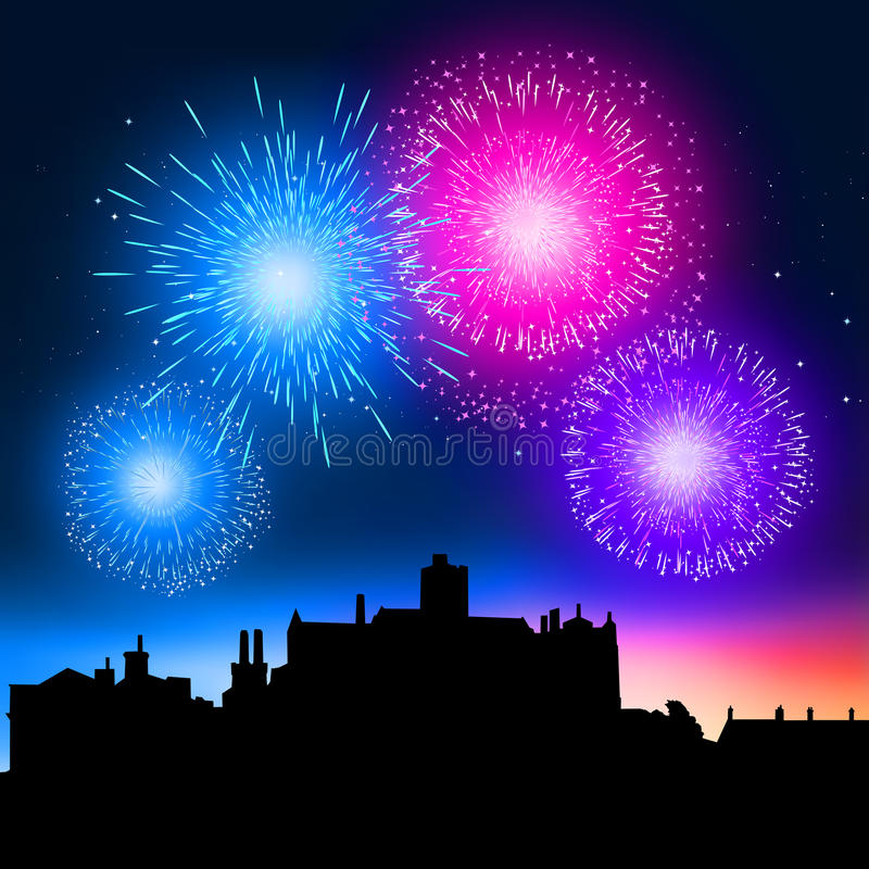 Free Fireworks Night Royalty Free Stock Images - 16135889