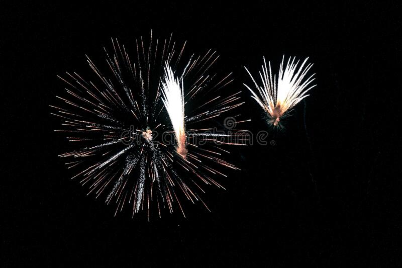 Fireworks During Night Time Free Public Domain Cc0 Image
