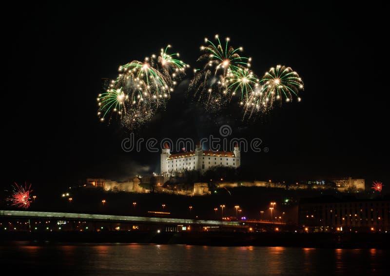 Fireworks ovet the Castle
