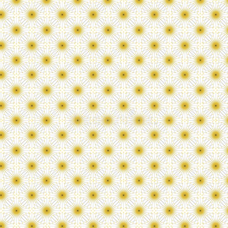 Fireworks Pattern Texture. Fireworks Tiling Texture.  Background.  Background royalty free illustration