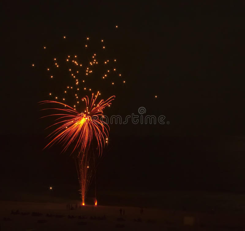 Download Fireworks Red & yellow stock photo. Image of colorful - 10096690
