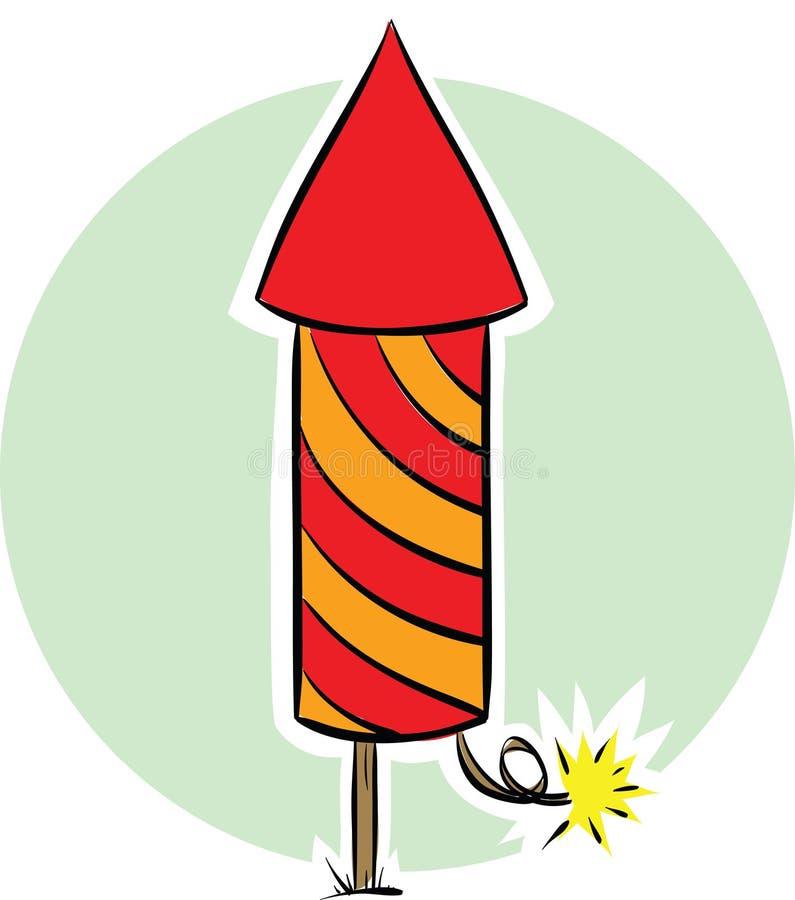 Download Fireworks Rocket stock illustration. Illustration of illustration - 41884353
