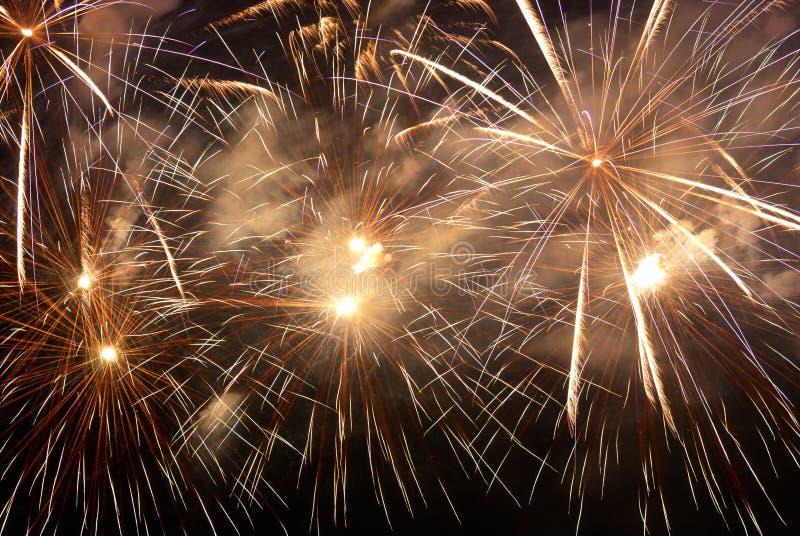 Fireworks, salute. stock photos