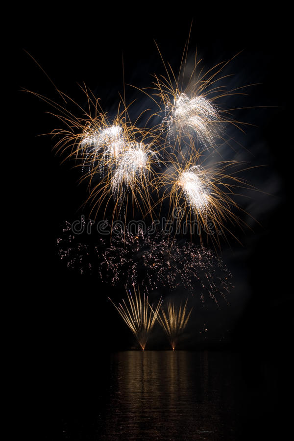 Download Fireworks Show Royalty Free Stock Images - Image: 25217349