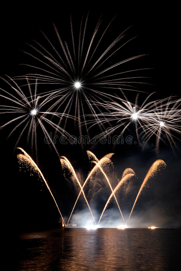 Download Fireworks Show Royalty Free Stock Image - Image: 25217366