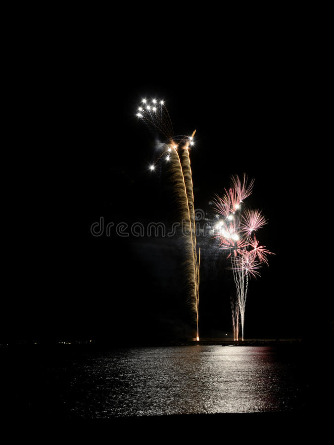 Download Fireworks stock photo. Image of firework, colors, exploding - 35295068