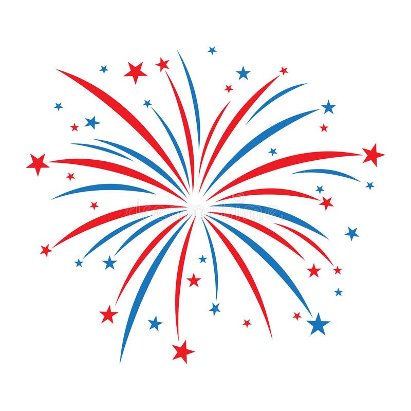 Fireworks Vector Icon stock vector. Illustration of star ...Fireworks Icon