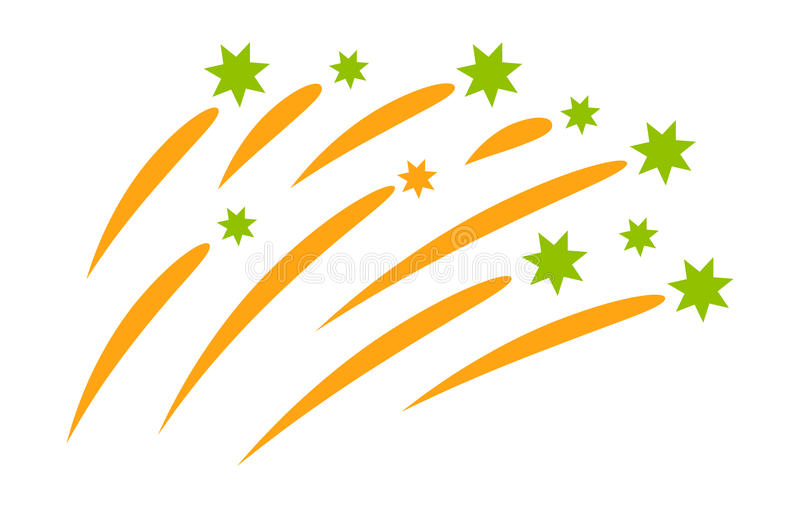 Fireworks vector icon vector illustration