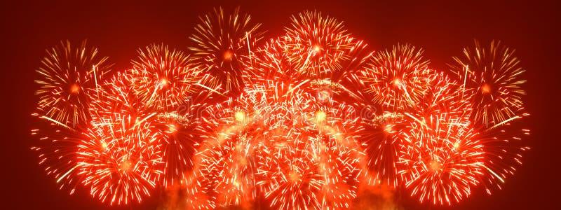 Fireworks xxl royalty free stock photos