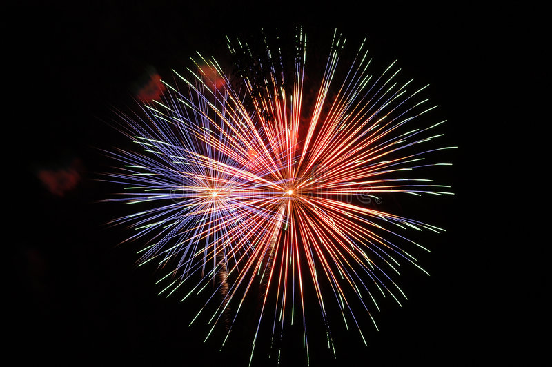 Download Fireworks1 stock photo. Image of fourth, july, obra, fire - 62296