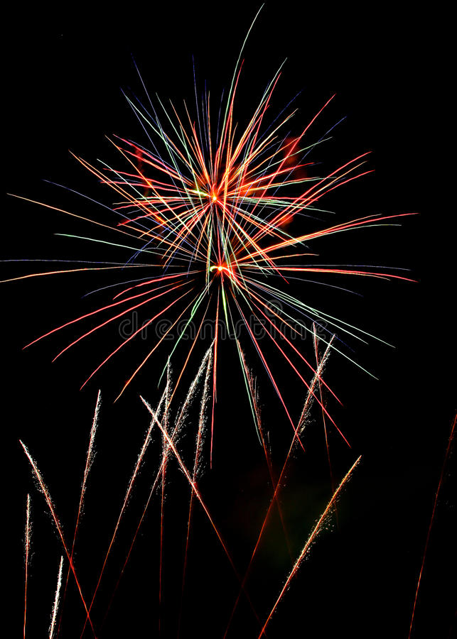 Fireworks3 royalty free stock photography