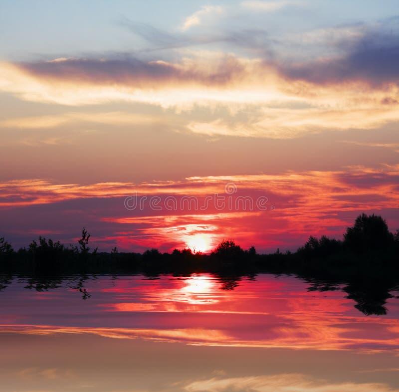 Download Firey Sunrise stock photo. Image of morning, pattern - 15207980